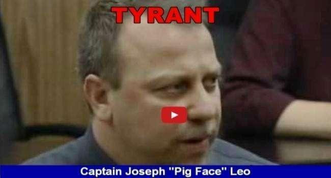 """Lackawanna NY police Captain detective Joseph Leo AKA """"PigFace"""""""